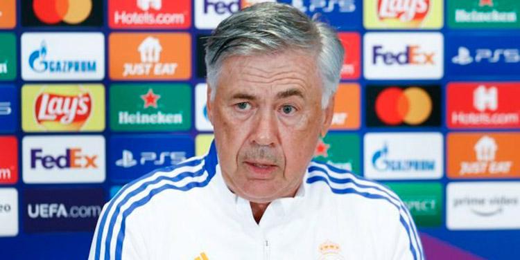 Carlo Ancelotti DT del Real Madrid aseguró que no le desea malos resultados al Barcelona.