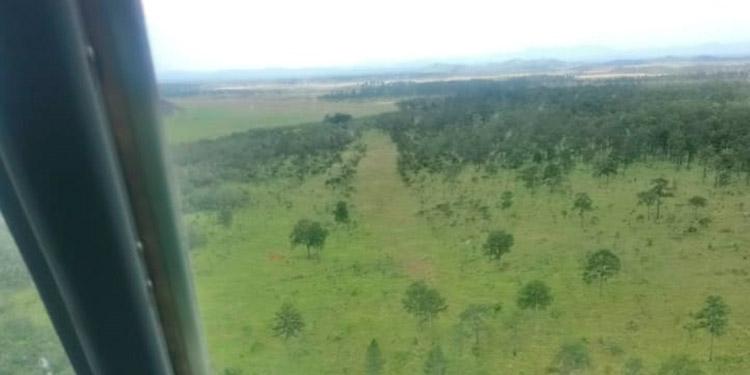 Mediante el escudo terrestre y aéreo este año se han inhabilitado 18 áreas clandestinas de aterrizaje para un total de 325 desde el inicio de operaciones en el 2014.