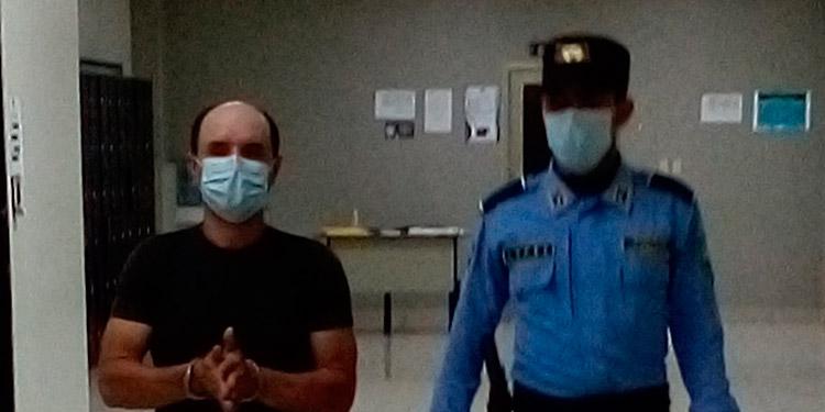 Jonny Javier Aguilar fue capturado luego de permanecer prófugo más de una década.