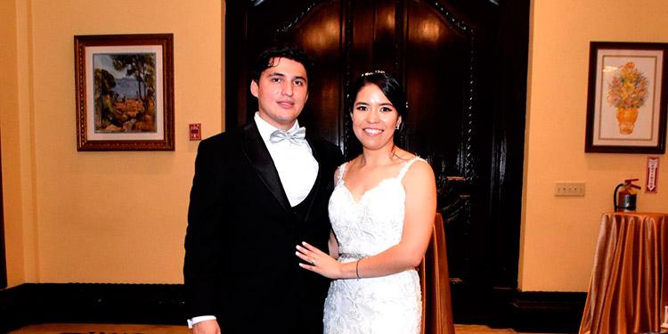 Francisco Barrientos y Denia Bonilla.