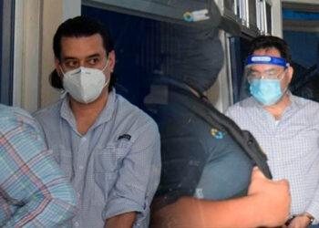 Marco Bográn y Alex Moraes acusados de dos delitos de fraude y dos de violación a los deberes de los funcionarios.