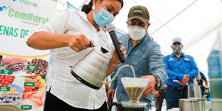 Los productores de café destacan el valioso apoyo recibido por parte del Presidente Juan Orlando Hernández.