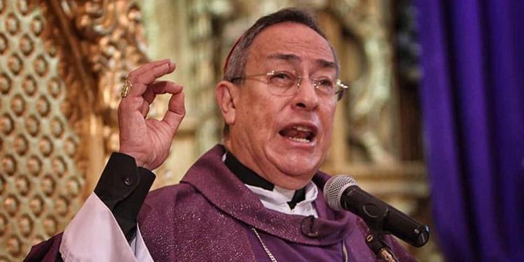 Cardenal Óscar Andrés Rodríguez Maradiaga.