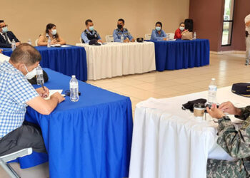 El Consejo de Seguridad Ciudadana de Catacamas está integrado por la municipalidad y representantes de instituciones del Estado.
