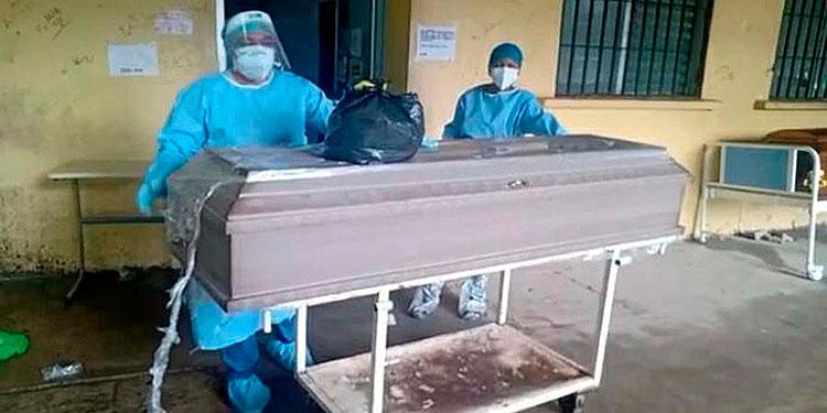 Seis personas de la tercera edad fallecieron el fin de semana en el HGS, informaron autoridades.