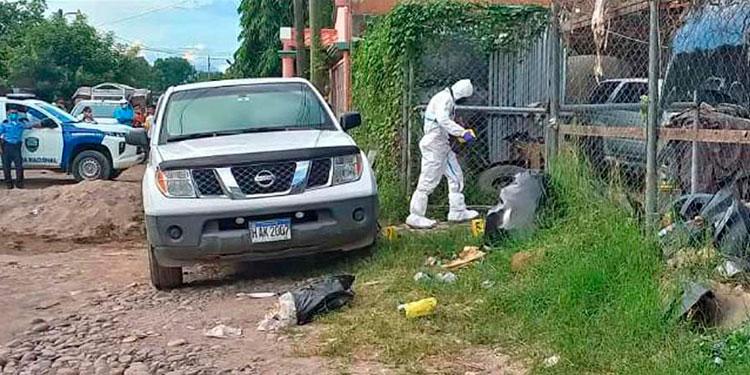 """El cuerpo del """"chapín"""" presentaba varios impactos de bala."""