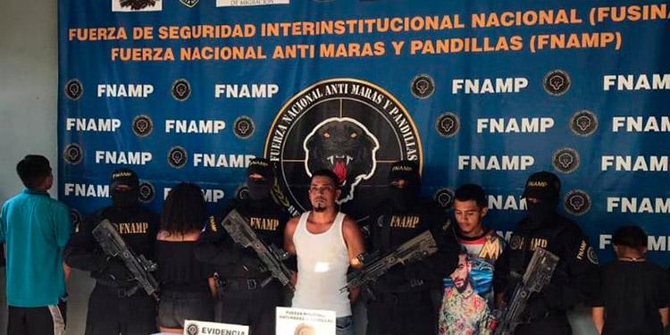 Todos los ahora sentenciados fueron detenidos por la Fuerza Nacional AntiMaras y Pandillas (FNAMP), en diferentes operativos.