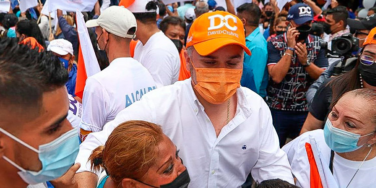 """""""A 63 días de las elecciones generales, veo a una Honduras con progreso y desarrollo de la mano de Papi a la Orden"""", dijo Chávez."""