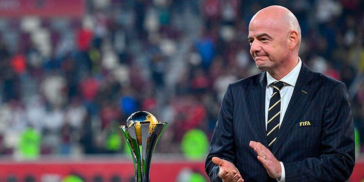 La FIFA, que preside Gianni Infantino, quiere mundiales cada dos años.