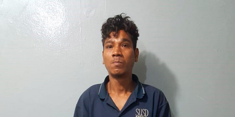 Alex David Hernández Rodríguez supuestamente mató a un hombre en Danlí, El Paraíso.