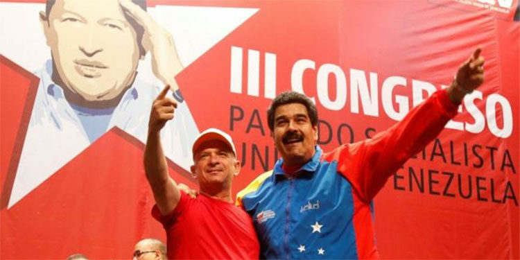 Hugo El Pollo Carvajal y Maduro