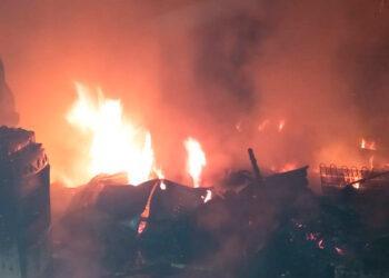 El detenido fue señalado de incendiar seis viviendas e intentar quemar a su familia es capturado en La Ceiba.