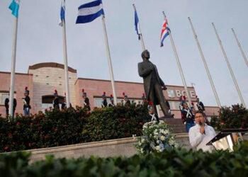El 15 de septiembre empezará con la izada de la Bandera y entonación del Himno Nacional frente al Banco Centroamericano, donde también se exaltará la figura del paladín centroamericano, Francisco Morazán.
