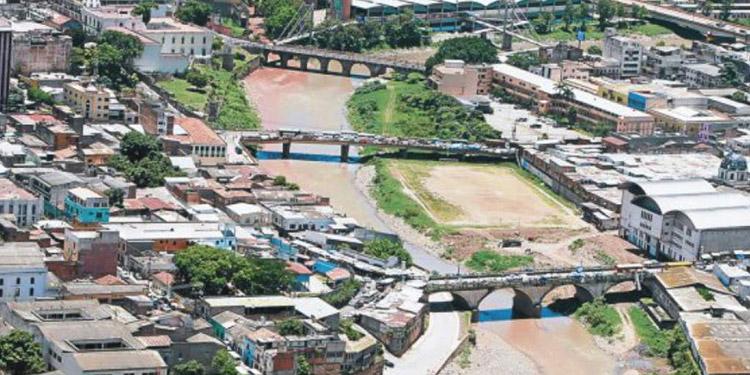 Una autopista sobre el río Choluteca para descongestionar el centro de la ciudad, era parte de la propuesta japonesa.
