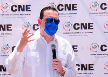"""Kelvin Aguirre: """"Nuestra gestión apunta a garantizar la transparencia e integridad electoral""""."""