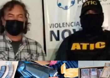 La captura de Javier Benítez se efectuó de manera in fraganti y la misma fue ejecutada por la Agencia Técnica de Investigación Criminal.