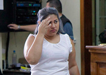 """Dora Francisca Zepeda, alias """"La Gorda""""."""