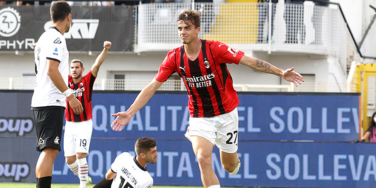 Daniel Maldini, hijo de la leyenda Paolo.