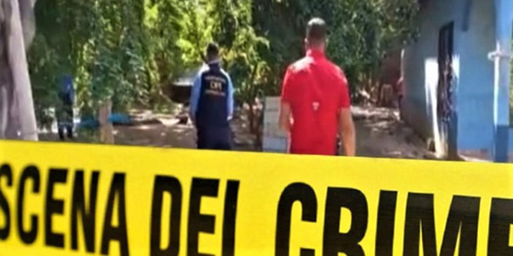 Agentes de la Policía Nacional se trasladaron hasta el sector de Olanchito para iniciar el proceso de investigación sobre este nuevo hecho violento.