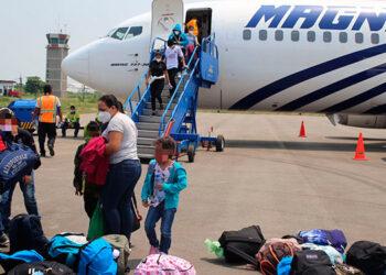 Según las autoridades, septiembre ha sido el mes en que más compatriotas han sido deportados de Estados Unidos y México.