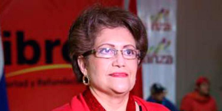 María Luisa Borjas.
