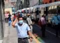 La movilización de los transportistas inició desde horas de la mañana, en tres puntos estratégicos de la capital.