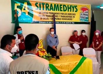 Una de las exigencias del Sitramedhys es que se frene la privatización de los servicios de cocina del Hospital de Puertos Cortés.