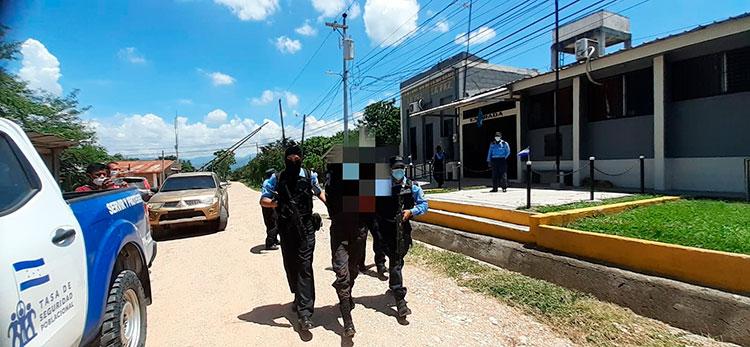La captura fue ejecutada por agentes de la Udep-12, en conjunto con el Ministerio Público.