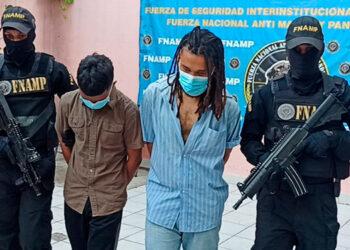 Investigadores indicaron que los sujetos estaban exigiendo sumas de dinero semanales en nombre de la pandilla 18.