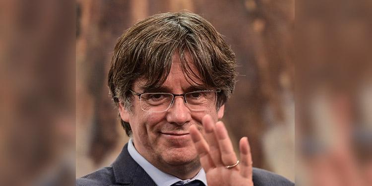 Carles Puigdemont. (LASSERFOTO AFP)