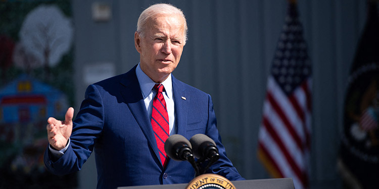 El presidente de EE. UU., Joe Biden, llamó a la unidad en su país y a dejar atrás el miedo, en un mensaje con motivo del vigésimo aniversario de los atentados del 11-S. (LASSERFOTO AFP)
