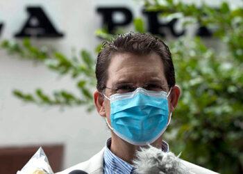 El gerente general del diario La Prensa, Juan Lorenzo Holmann, será juzgado por delitos económicos y de traición a la patria. (LASSERFOTO  EFE)