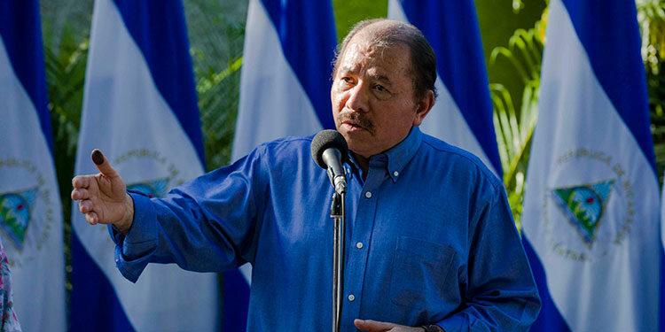 Daniel Ortega. (LASSERFOTO EFE)