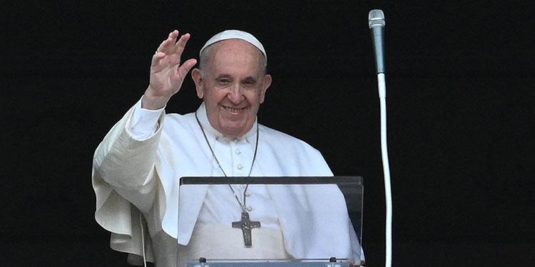 Papa Francisco.  (LASSERFOTO AFP)