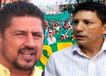 José Luis Matamoros y Miguel Aguilar se disputan el STENEE que aglutina a 1,800 afiliados cotizantes, en una masa de 2,300 empleados, donde 500 están por contrato.
