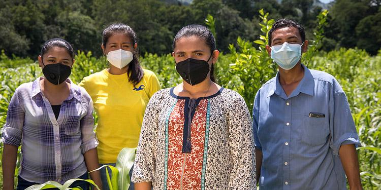 FAO y AMEXCID trabajan a favor de las familias rurales.