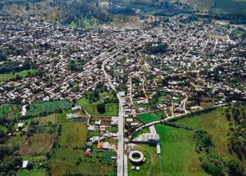 Ciudad de Trojes, vista desde el dron de canal 20.