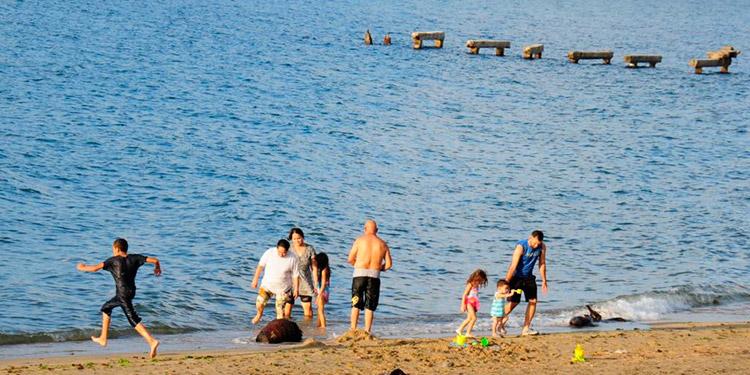 Las zonas costeras son unos de los principales atractivos de los veraneantes durante la Semana Morazánica.