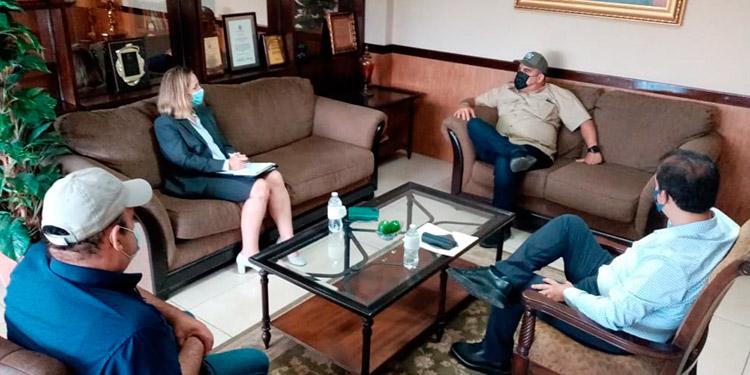 La consejera Agrícola Regional Rachel Nelson en reunió con funcionarios de la SAG,  reconoció los logros de los proyectos financiados por el USDA.