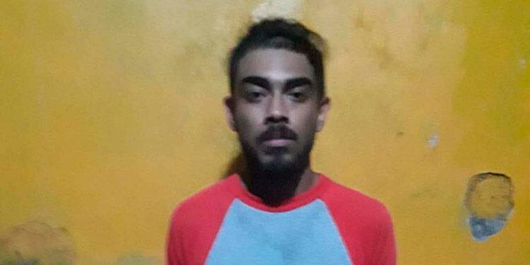 El detenido fue remitido ante las autoridades competentes.