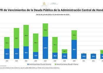 Hasta el 2035 se estabilizaría el servicio de la deuda según proyecciones oficiales.