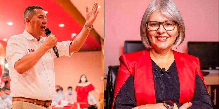 Asley Cruz y Patricia Sabillón aspirantes a la alcaldía de Siguatepeque no presentaron informe de ingresos y egresos de las elecciones primarias en la UFTF.