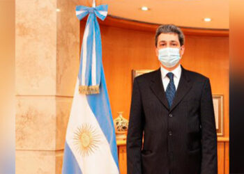 El canciller argentino, Felipe Solá.