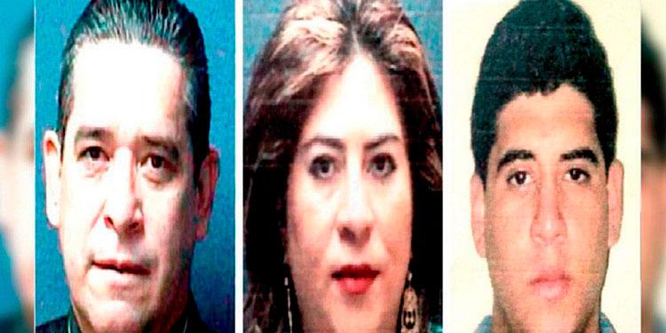 Francisco Arturo Mejía, Waldina Lizzette Salgado y Roberto Arturo Salgado Pérez, continuarán recluidos en Támara.