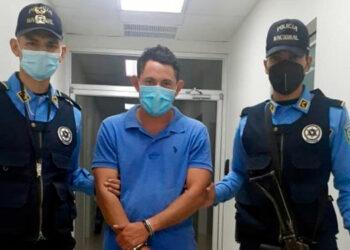 Ever Eduardo Vargas Núñez fue detenido por agentes de la DPI, un día después de haber cometido el crimen.