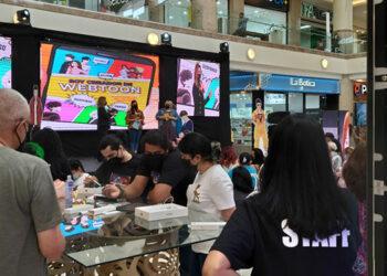 Capitalinos conocen más sobre Webtoon en evento de la embajada de Corea del Sur.