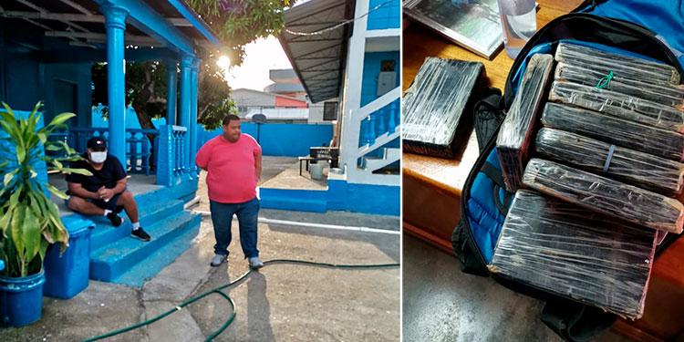 Fernando Alberto Meza Urbina y Danely Ixel Banegas Borjas.