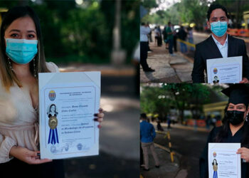 Para mayor seguridad de los graduandos, estos deben portar un lápiz tinta, tarjeta de identidad y llegar acompañados de una sola persona.