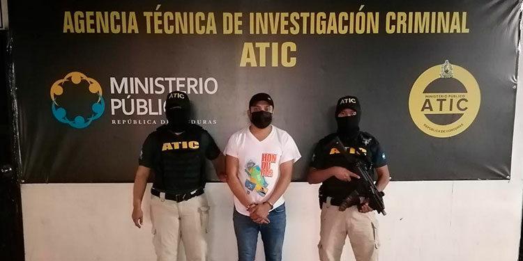 """Ronny Gabriel Valladares Ávila, alias """"La Sombra Valladares"""" y """"El Mexicano""""."""