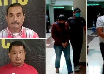 Los cuatro encausados fueron remitidos al centro penal de El Progreso, Yoro.